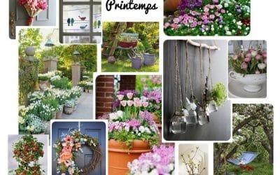 Idées déco : le printemps au jardin