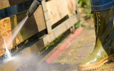 Grand nettoyage de printemps : la terrasse